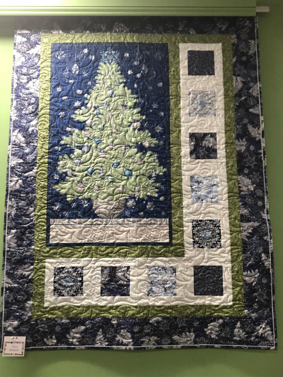 O Christmas Tree Blue/Green