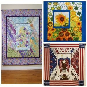 Hexified Panel Quilts