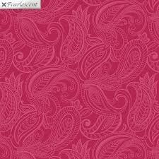 Lily Anne Tonal Pink Paisley