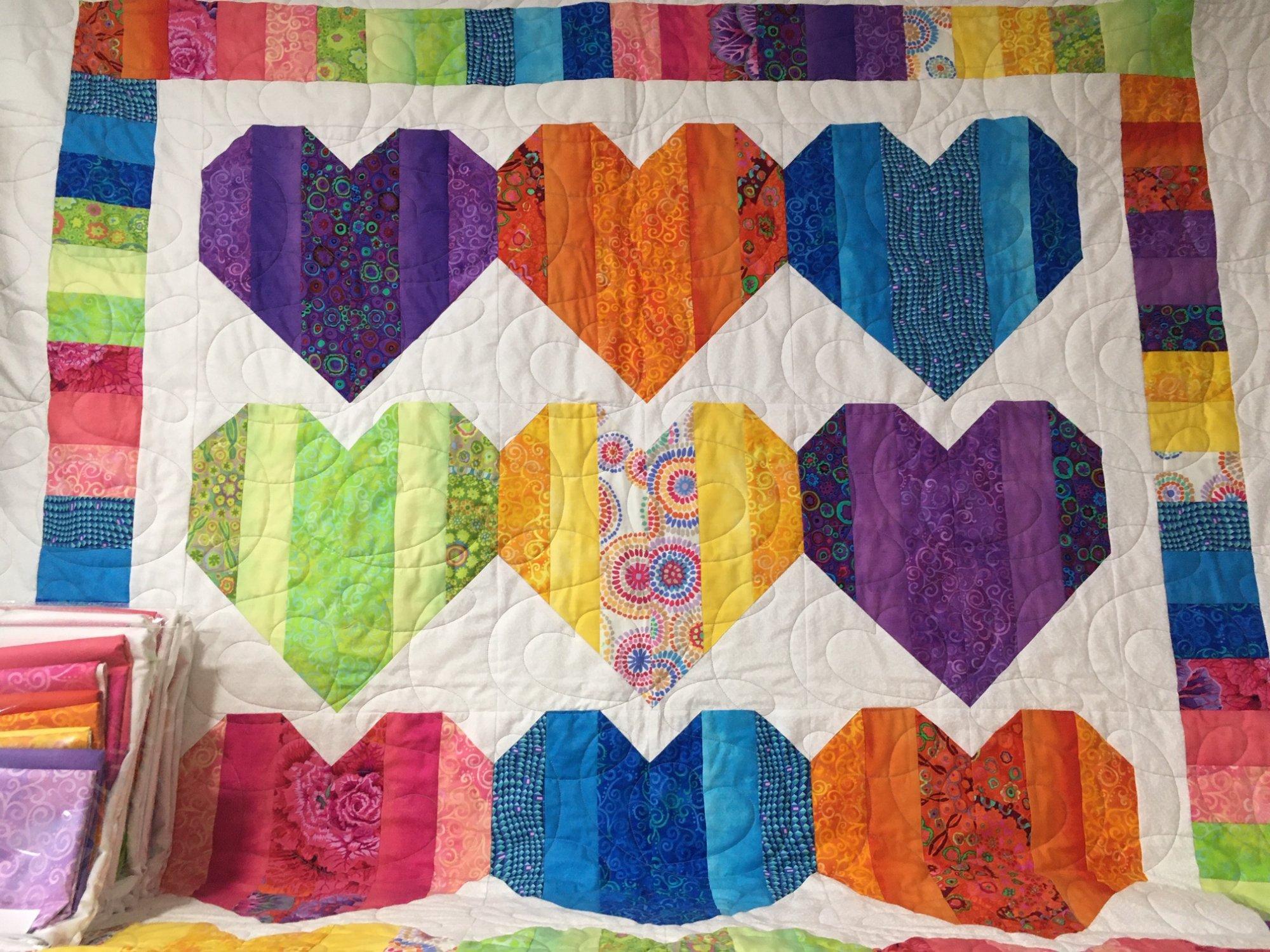 Heartstrings Quilt Kit