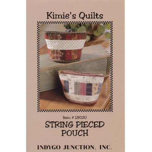 String Pieced Pouch - IJK120