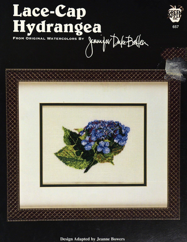 Lace-Cap Hydrangea:  BF
