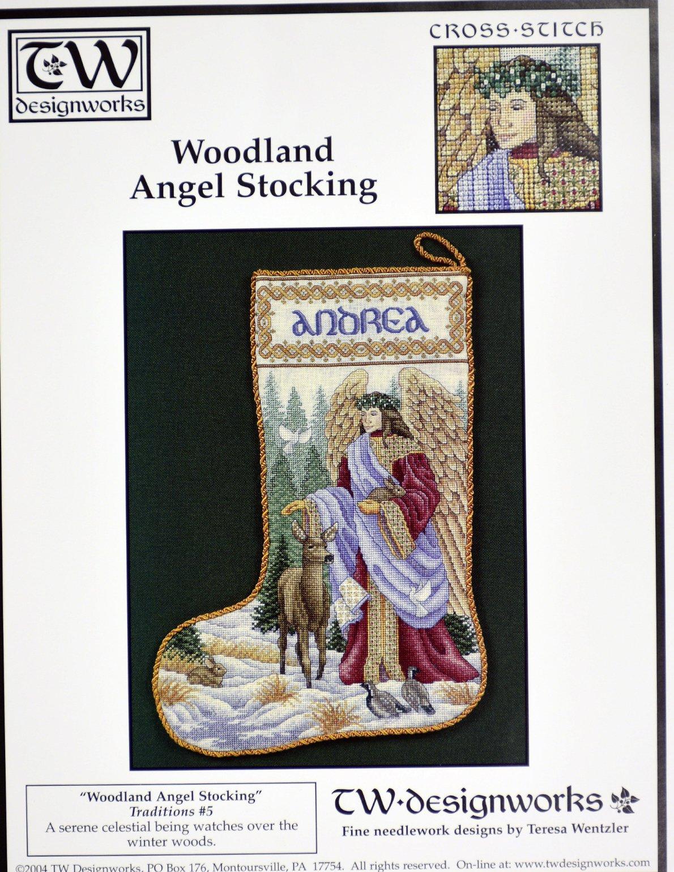 Woodland Angel Stocking