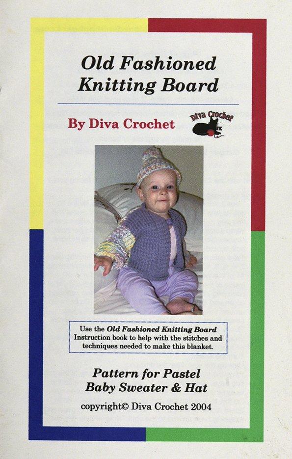 Old Fashioned Knitting Board Pattern Kn