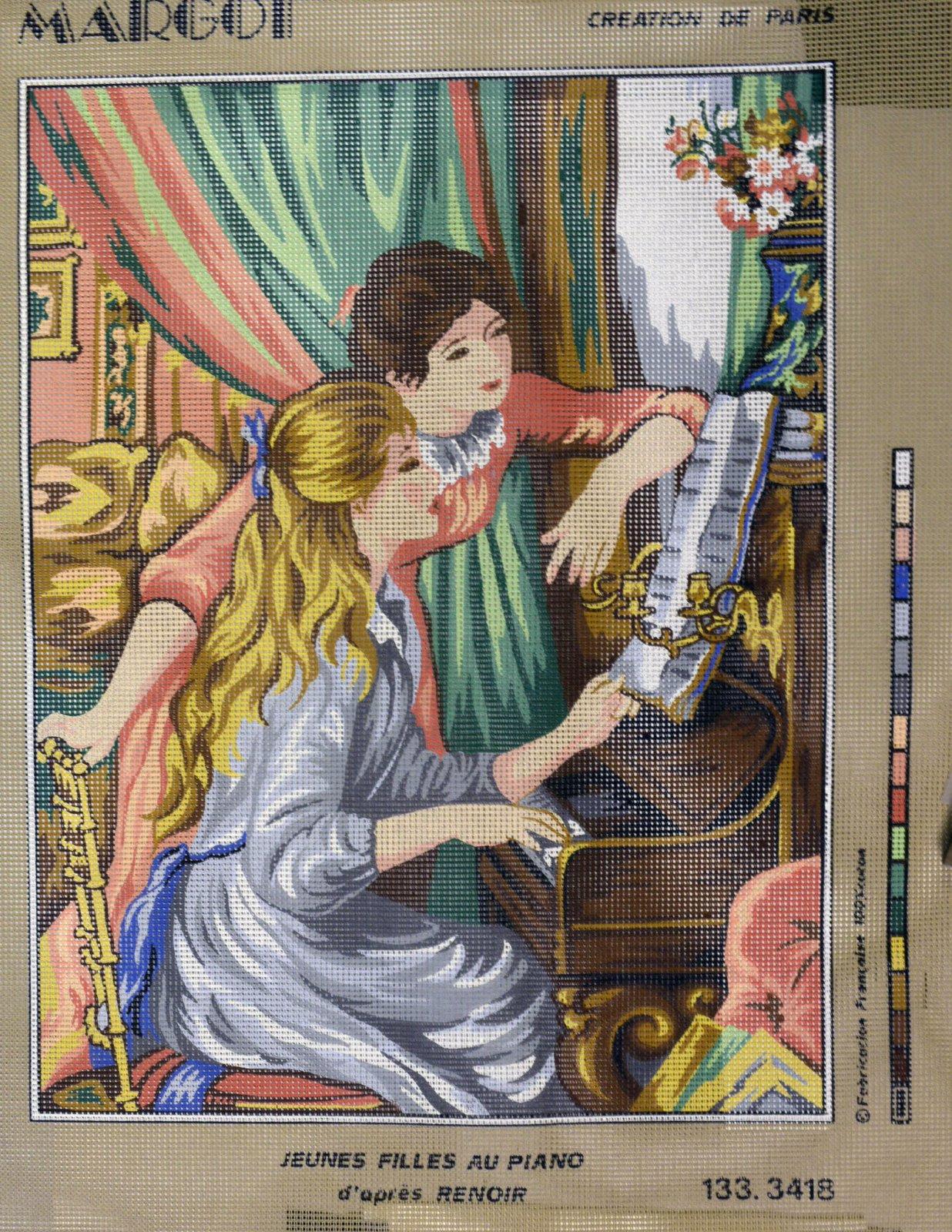 Jeunes Filles Au Piano (Renoir):  NEE