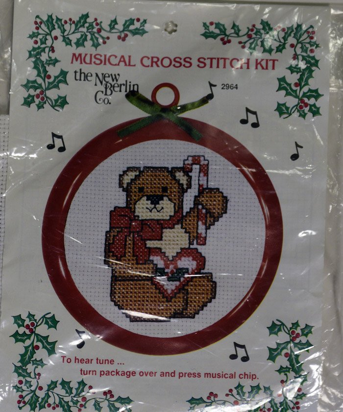 Musical Cross Stitch Kit:  CHR