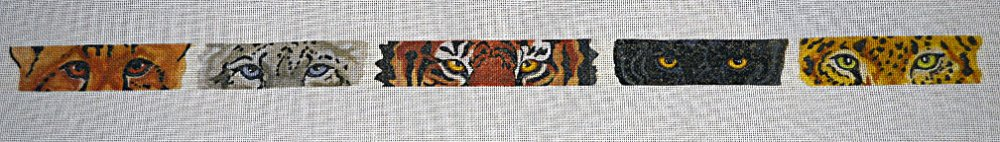 Needlepoint:  Leopard Eyes:  PC3011