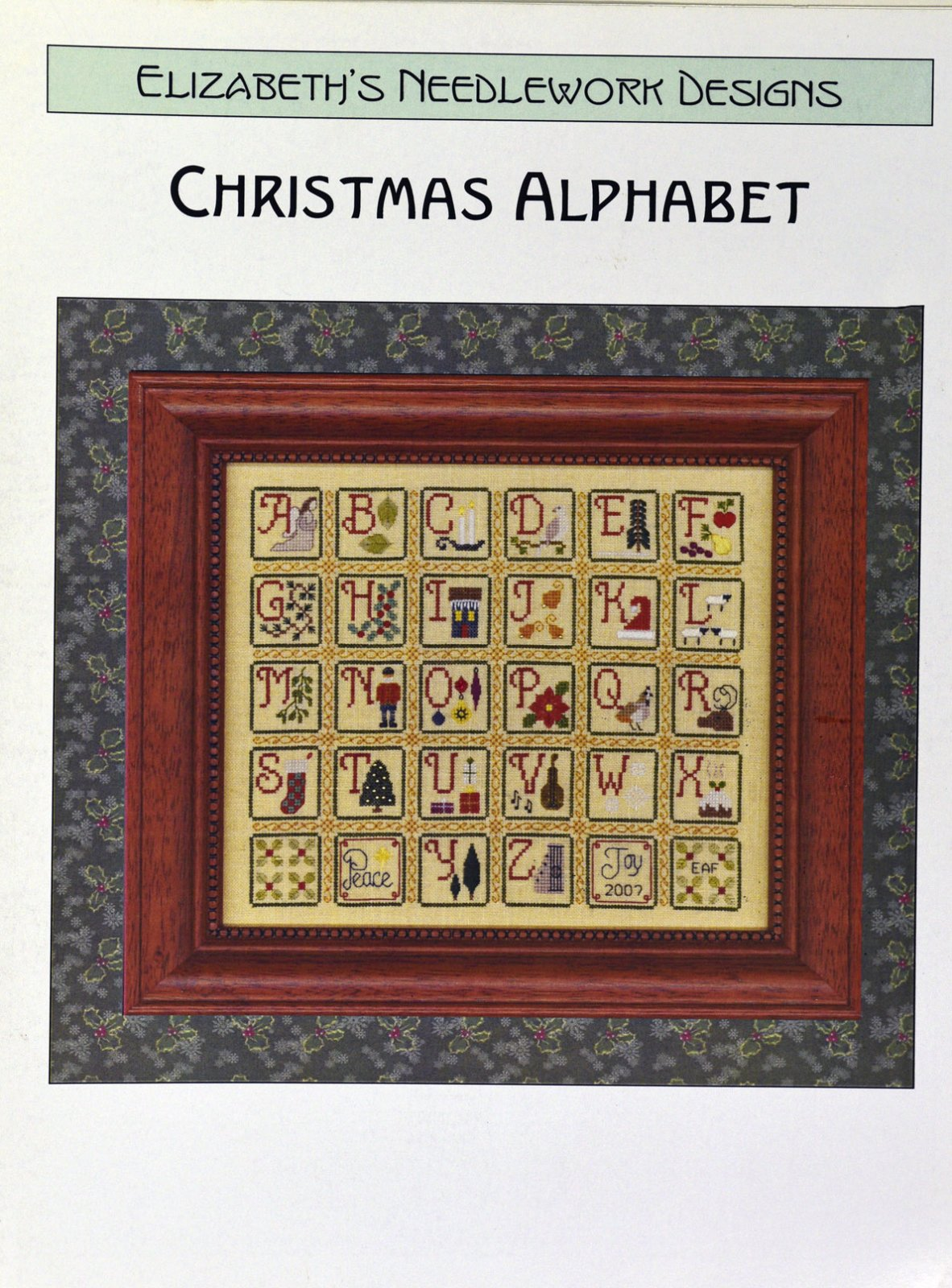 Christmas Alphabet:  END
