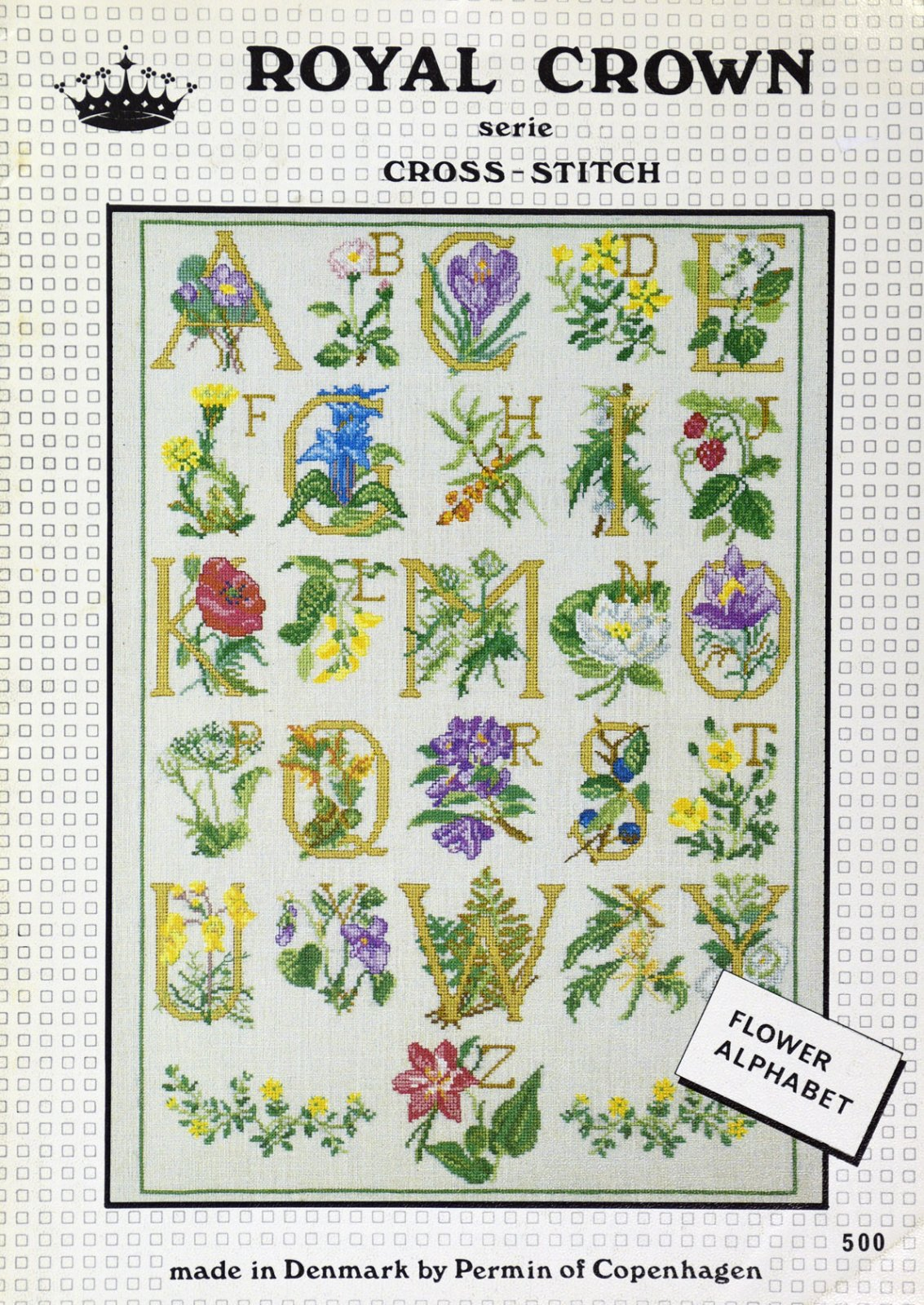 Flower Alphabet:  BF