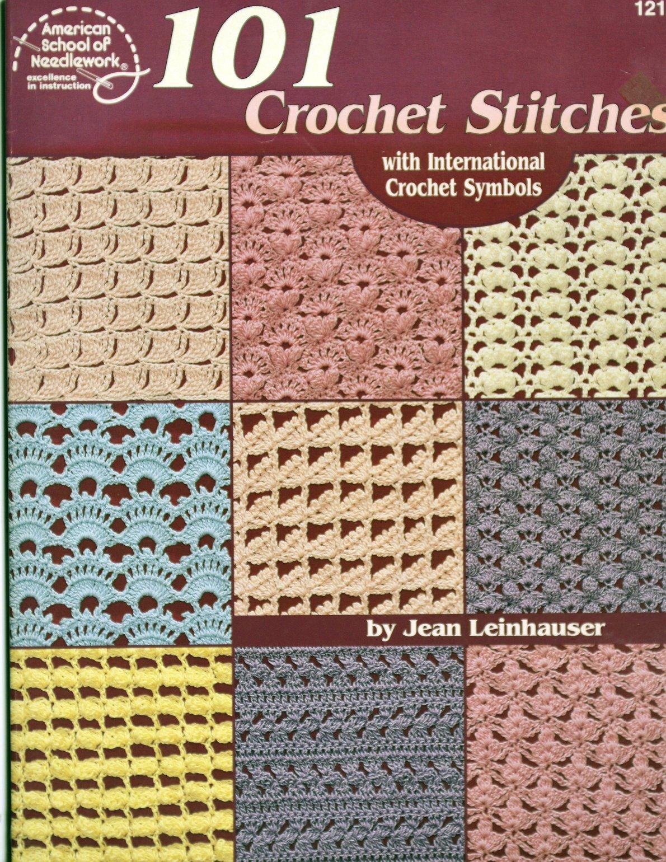 101 Crochet Stitches