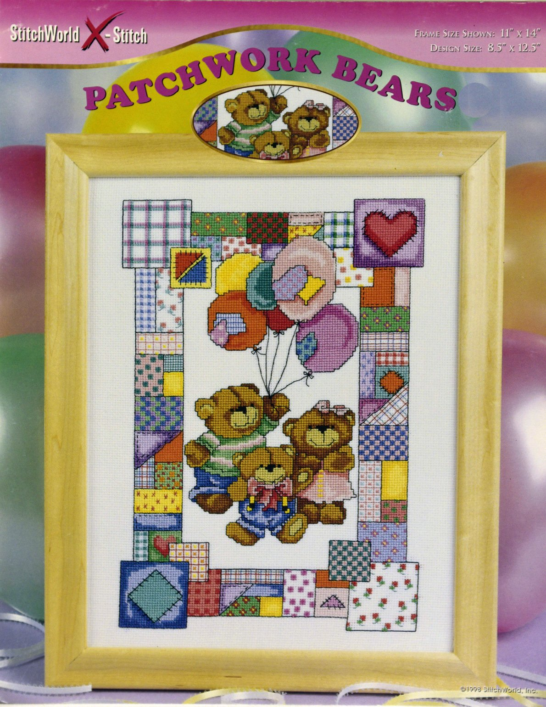Patchwork Bears:  TB