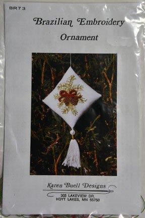Brazilian Embroidery:  Ornament:  BE9011