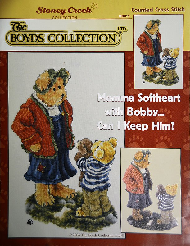 Boyd's Bears:  Momma Softheart with Bobby...:  BB397