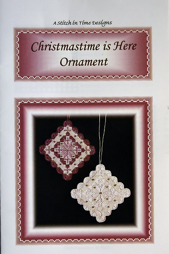 Christmastime is Here Ornament