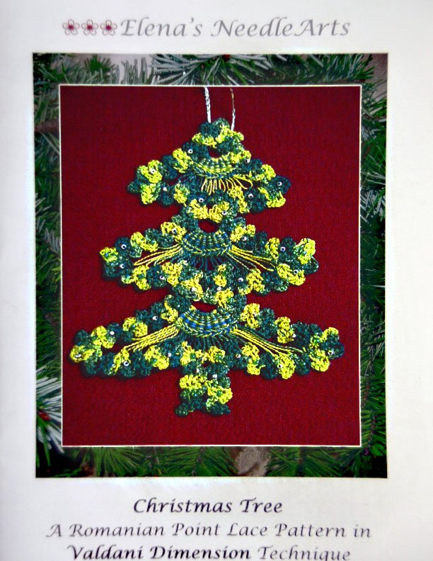 Remanian Point Lace:  Christmas Tree:  RPL103