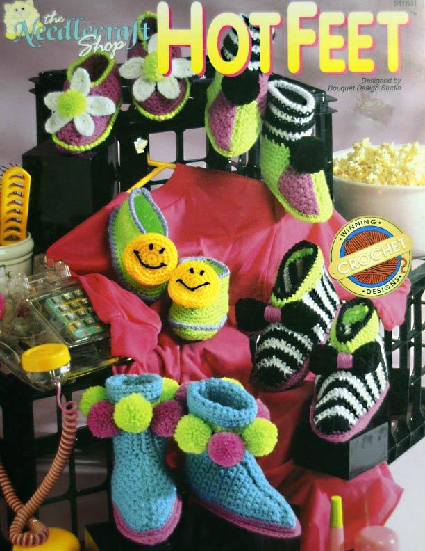 Crochet Hot Feet