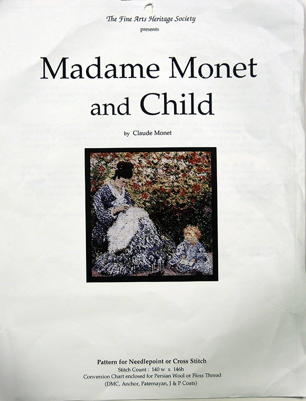 The Fine Arts Heritage Society Madame Monet And Child Om