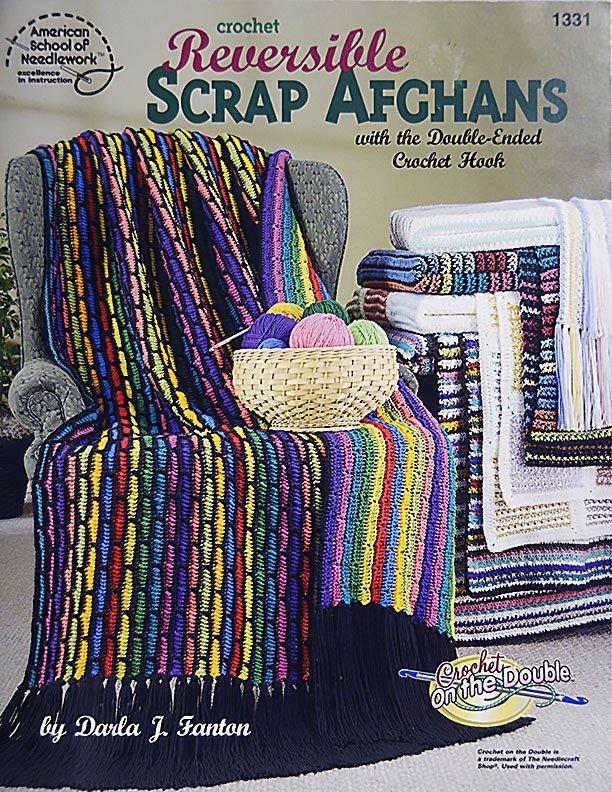 Crochet Reversible Scrap Afghans Cr2029