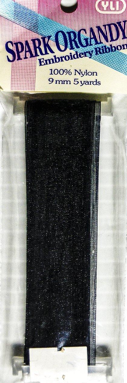 Embroidery Ribbon:  Black