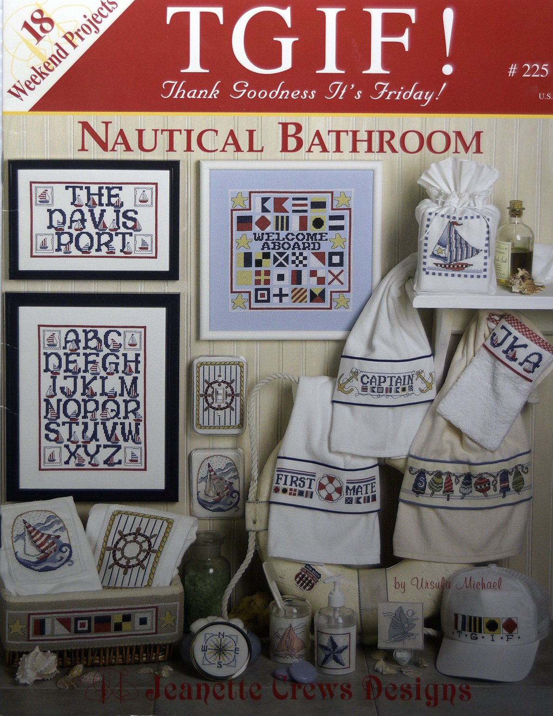 Nautical Bathroom:  CCV
