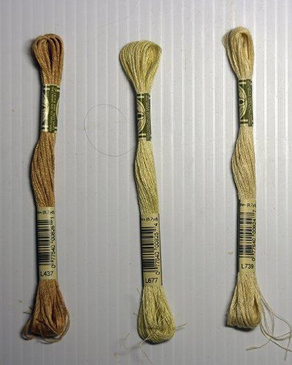 DMC  Linen Floss:  MT
