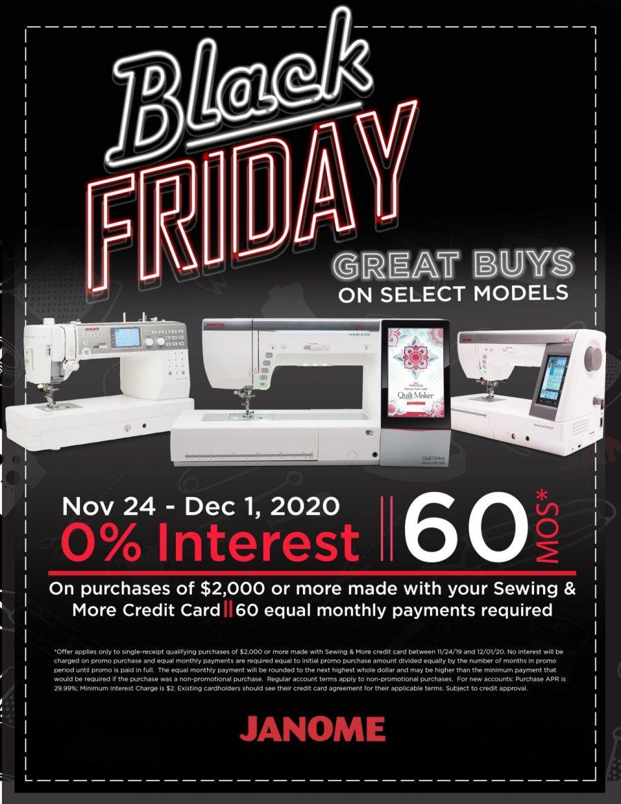 Special Black Friday Financing