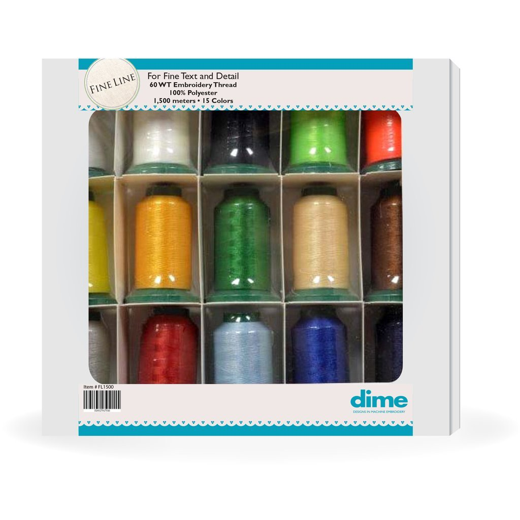 DIME Fine Line 15 Spool Assortment