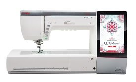Horizon Quilt Maker Memory Craft 15000 Combo Embroidery and Sewing Machine