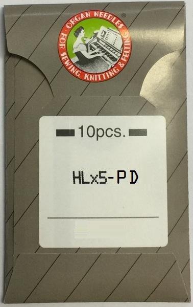 Organ HLx5 Titanium Flat 75/11 PD