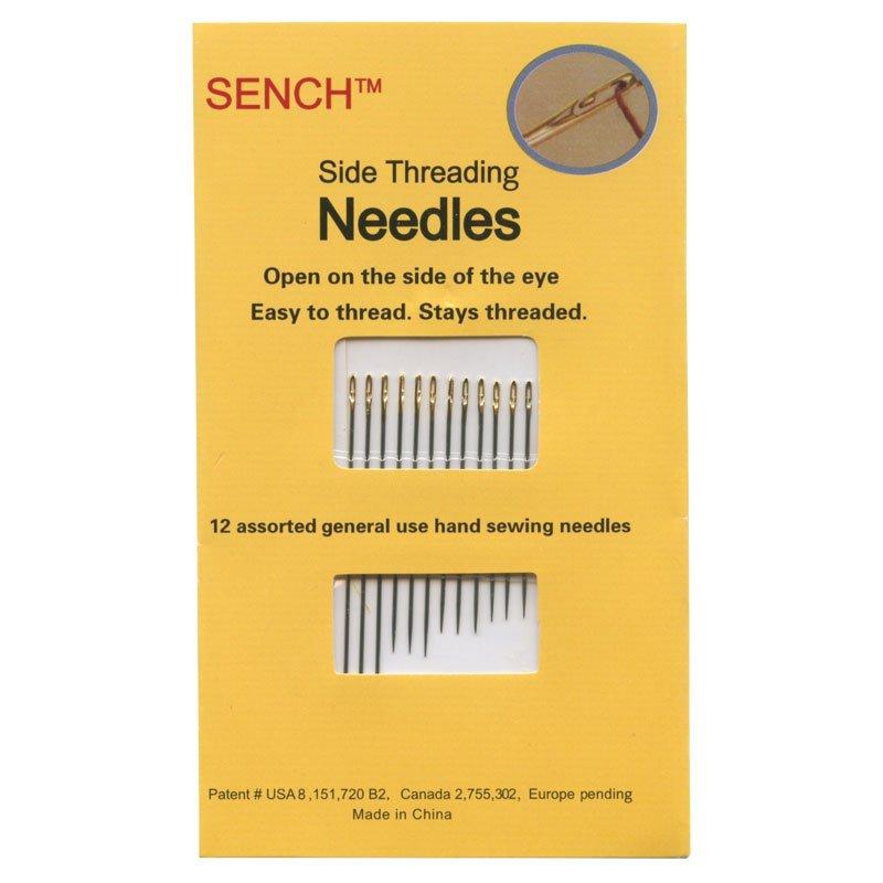 Sench Needles Side Threading 12 pk