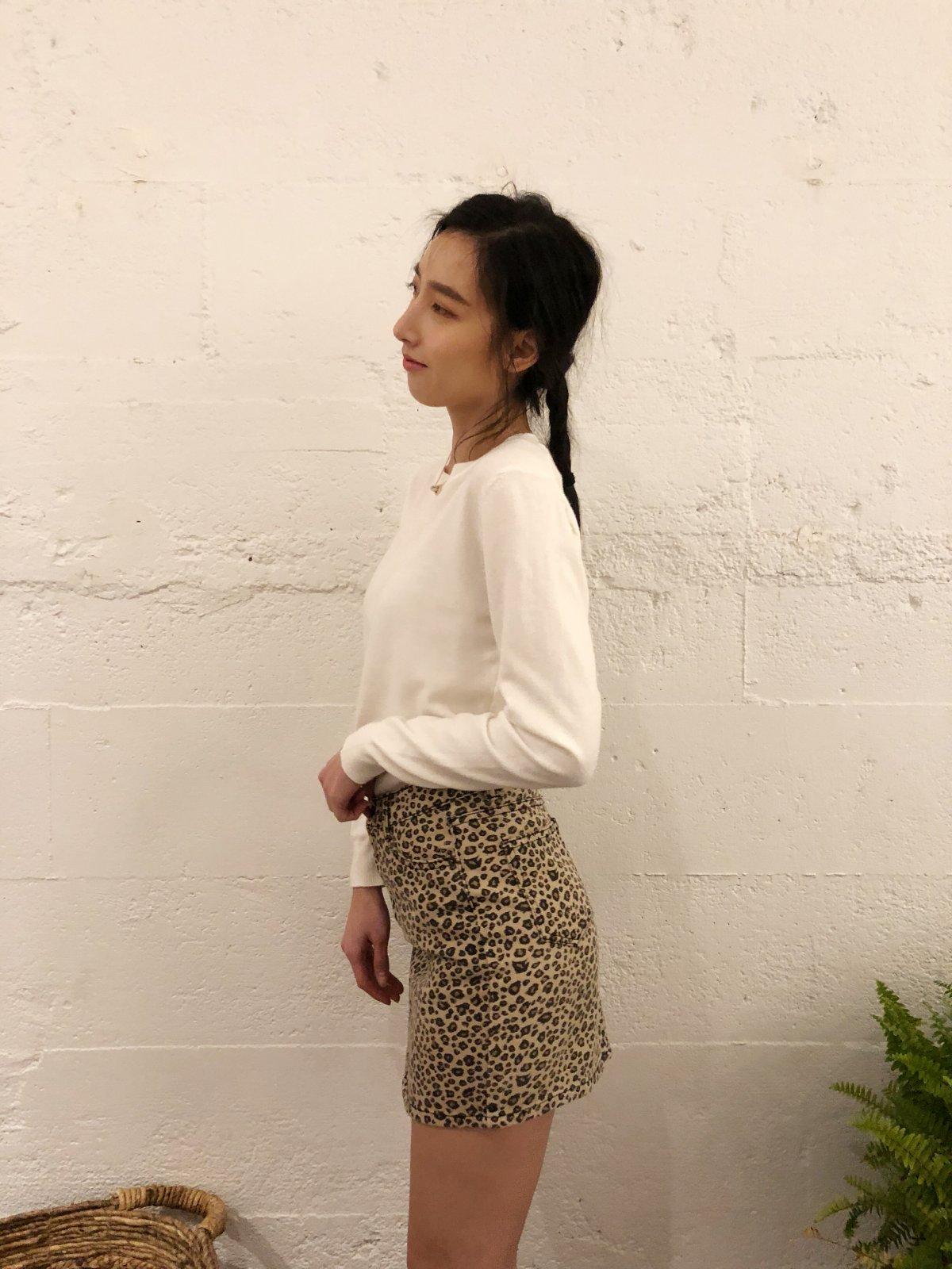 Carroll Denim Skirt 1001