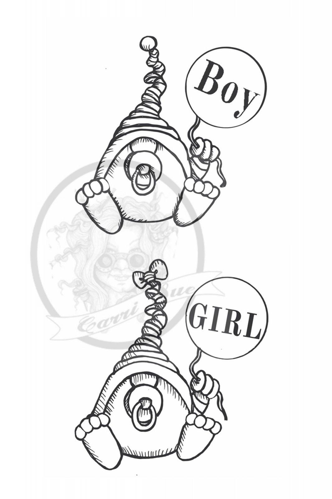 Baby Boy & Girl Gnome