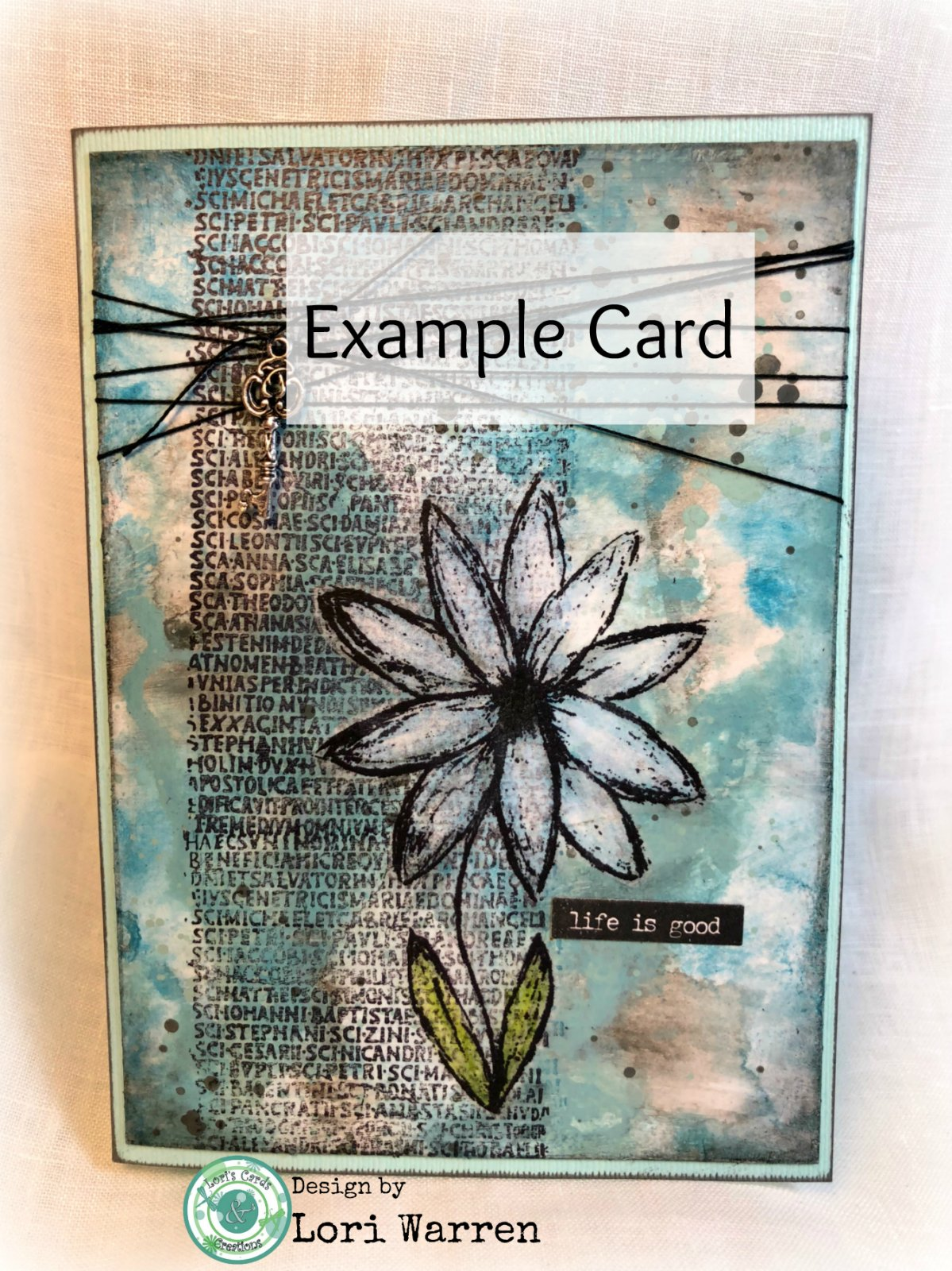 Made to Order, Hand-made card
