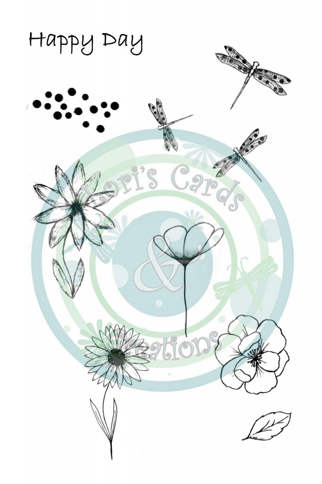 Mini-Sketchy Flower Set