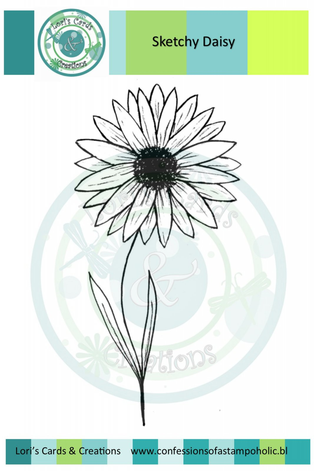 Sketchy Daisy Flower