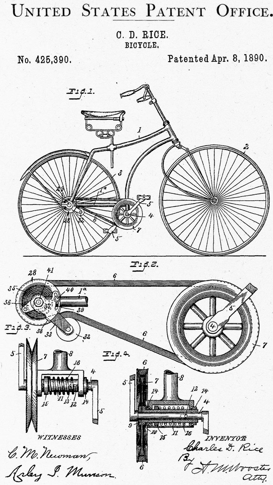 Vintage Bicycle 1890