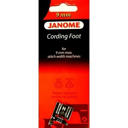 Janome Cording Foot for 9MM machines