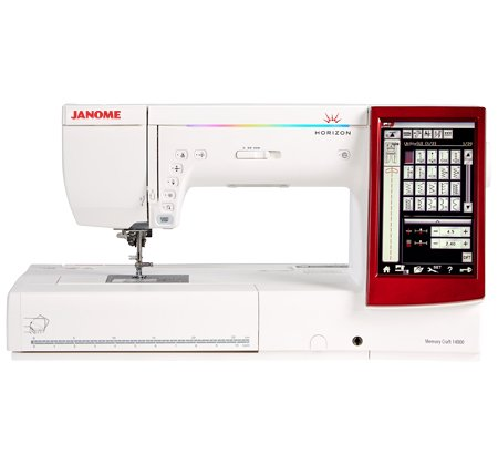 Janome Horizon Memory Craft 14000 Sewing, Embroidery, & Quilting Machine