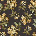 Windham Fabrics Tara Floral Spray Black 51233-1