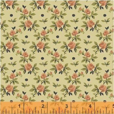 Windham Fabrics Tara Rose Buds 51236-6