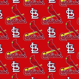 Fabric Traditions MLB St. Louis Cardinals 58/60 Wide