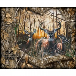 Print Concepts Real Tree Edge Flannel 36 inch Deer Panel