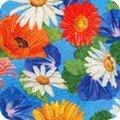Robert Kaufman VIBRANT GARDEN  small flowers