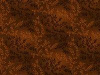 Choice Fabrics 108 Backing Brown Leaves