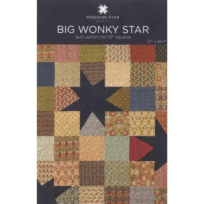 Missouri Star Quilt Co. Big Wonky Star Pattern