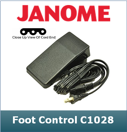 Janome Foot Controller Unit