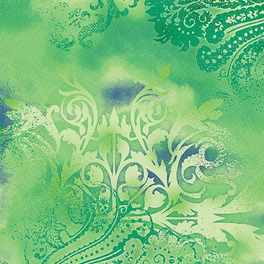 Benartex Dreamscape Green Apple