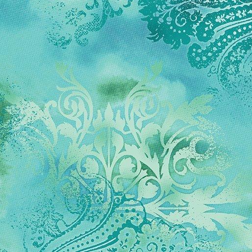 Benartex Dreamscape Turquoise