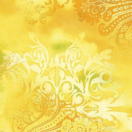 Benartex Dreamscape Yellow