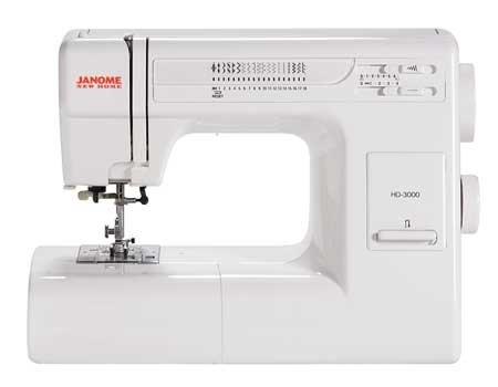 Janome HD3000 Heavy Duty Mechanical Sewing Machine